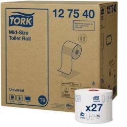 Tork Mid-size papier toaletowy (127540) - 135 m, karton 27 szt.