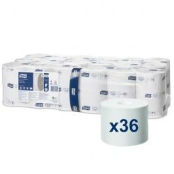 Tork Mid-size miękki papier toaletowy bez gilzy (472585) - 92 m, opakowanie 36 szt.