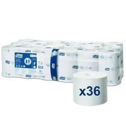 Tork Mid-size papier toaletowy bez gilzy (472199) - 103,5 m, opakowanie 36 szt.