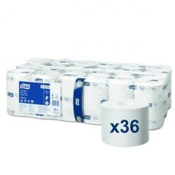 Tork Mid-size papier toaletowy bez gilzy (472584) - 149,5 m, opakowanie 36 szt.