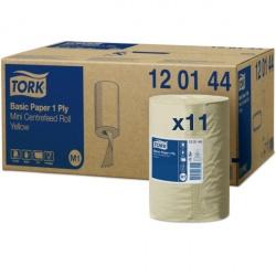 Tork czyściwo papierowe do podstawowych zadań 1-warstwowe (120144) - 115 m, karton 11 szt