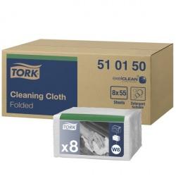 Tork czyściwo włókninowe wielozadaniowe (510150) - 55 odc./binda, opakowanie 8 szt.