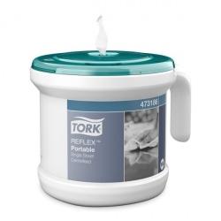 Tork Reflex™ przenośny dozownik do ręczników centralnie dozowanych po jednym listku z serii Performance
