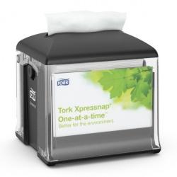 Tork Xpressnap® Snack™ mały dozownik do serwetek w składce, na stolik
