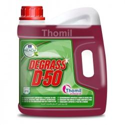 Thomil Degrass D-50 - silny odtłuszczacz do powierzchni kuchennych, płyt grilowych i sprzętu - 4,7 kg