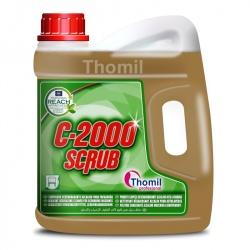 Thomil C-2000 Scrub - alkaliczny odtłuszczacz zmywający dedykowany do maszyn szorujących - 4 l
