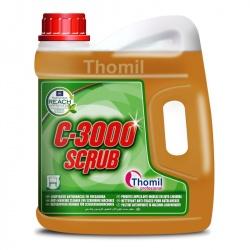 Thomil C-3000 Scrub - silnie alkaliczny środek doczyszczający dedykowany do maszyn szorujących - 4 l