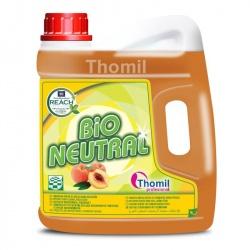 Thomil Bio Neutral Peach - płyn do mycia podłóg o brzoskwiniowym zapachu - 4 l