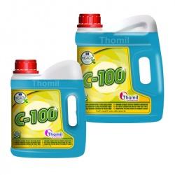 Thomil C-100 - płyn do mycia i pielęgnacji krystalizowanych oraz woskowanych posadzek