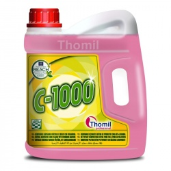 Thomil C-1000 - płyn do maszynowego mycia krystalizowanych oraz woskowanych posadzek - 4 l