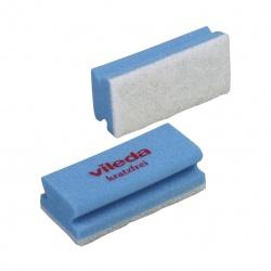 Gąbka (myjka) Non-Scratch - 15x7 cm, niebieska, opakowanie 10 szt. - Vileda Professional