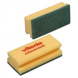 Gąbka (myjka) do szorowania - 15x7 cm, opakowanie 10 szt. - Vileda Professional