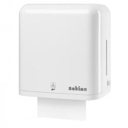 Dozownik AutoCut z sensorem do ręczników papierowych w roli - Satino by Wepa