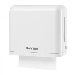 Dozownik SMALL do ręczników papierowych w składce - Satino by Wepa