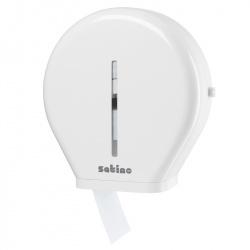 Dozownik papieru toaletowego w rolkach Jumbo - Satino by Wepa