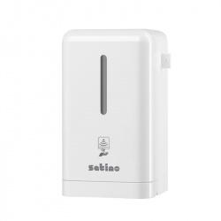 Dozownik do mydła w płynie lub pianie z sensorem (pojemność 700 ml) - Satino by Wepa