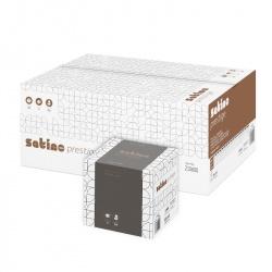 Chusteczki higieniczne SATINO PRESTIGE (210600) - 2 warstwowe, opakowanie 30x60 szt.