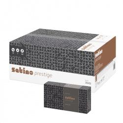 Chusteczki higieniczne SATINO PRESTIGE (206450) - 2 warstwowe, opakowanie 40x100 szt.