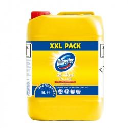 Diversey Domestos Professional Citrus Fresh - produkt do mycia i dezynfekcji sanitariatów, wybielacz - 5 l