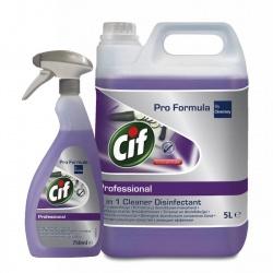 Diversey Cif Professional 2in1 Cleaner Disinfectant - preparat myjąco-dezynfekujący
