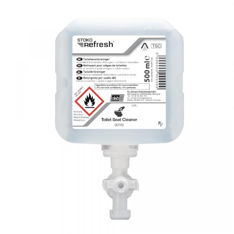 STOKO Refresh Toilet Seat Cleaner Spray - spray do czyszczenia desek sedesowych - 500 ml