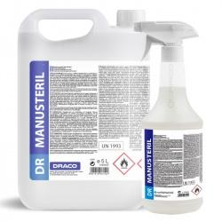 DR MANUSteril - alkoholowy produkt dezynfekujący do rąk i powierzchni