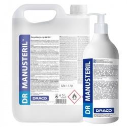 DR MANUSteril-WHO-1 (żel) - preparat do higienicznej i chirurgicznej dezynfekcji rąk