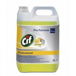 Diversey Cif Professional All Purpose Cleaner Lemon Fresh - preparat do mycia powierzchni wodoodpornych - 5 l