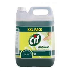 Diversey Cif Professional Hand Dishwash Extra Strong Lemon - płyn do ręcznego mycia naczyń - 5 l