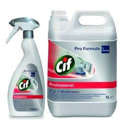 Diversey Cif Professional 2in1 Washroom Cleaner - preparat do mycia łazienek