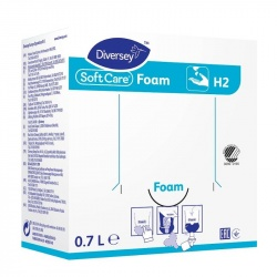 Diversey Soft Care Foam H2 - mydło do dłoni w pianie - 700 ml