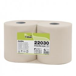 Celtex E-TISSUE - papier toaletowy w rolkach JUMBO (C22030) - 2 warstwowy, 300 m, 2000 listków, opakowanie 6 szt.