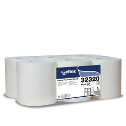 Celtex SUPERPULL MAXI - ręcznik centralnego dozowania w roli (C32320) - 2 warstwy, 160 m, opakowanie 6 szt