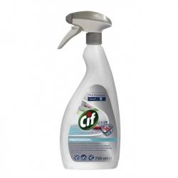 Diversey Cif Alcohol Spray D4.12 -  preparat do dezynfekcji powierzchni oparty na etanolu - 750 ml