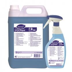 Diversey Suma Rapid D6 - preparat do mycia powierzchni szklanych