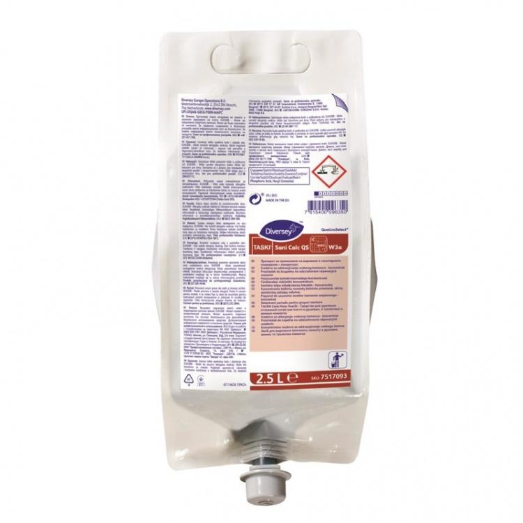 Diversey TASKI Sani Calc QS - preparat (koncentrat) do codziennego mycia toalet - 2,5 l