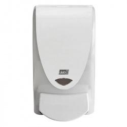 Dozownik do mydeł w pianie półprzezroczysty (z okienkiem) - pojemność 1 litr Deb-STOKO