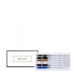Igielnik z 6 igłami White&Black ADA Cosmetics (opakowanie zbiorcze 200 szt)