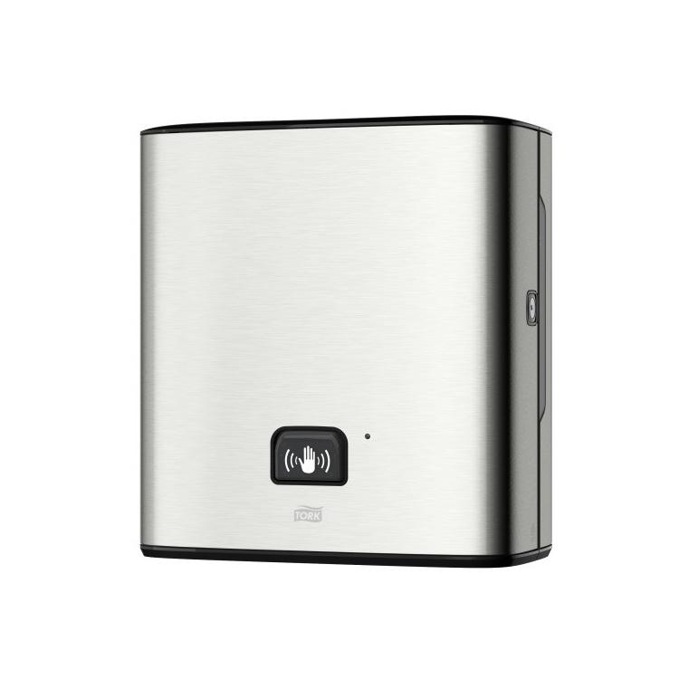 Tork Matic® elektroniczny dozownik do ręczników w roli z sensorem Intuition™ - stal nierdzewna/ABS