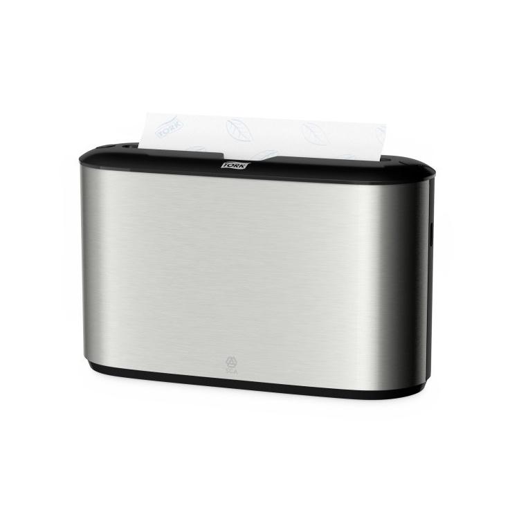 Tork Xpress® nablatowy dozownik do ręczników w składce wielopanelowej - stal nierdzewna/ABS