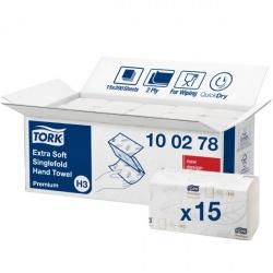 Tork Singlefold ekstramiekki ręcznik w składce ZZ (100278) - 200 odc./binda, opakowanie 15 szt