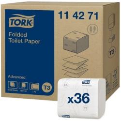 Tork papier toaletowy w składce (114271) - 242 odc./binda, opakowanie 36 szt.